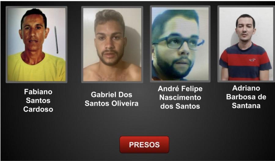 Polícia prende quatro homens suspeitos de matarem motorista de aplicativo em Aracaju - 93Notícias