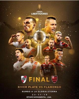 Resultado de imagem para Flamengo x River Plate: Conmebol decide que final será em Lima, no Peru, no dia 23